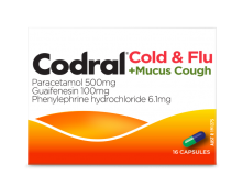 Codral® Cold & Flu +Mucus Cough